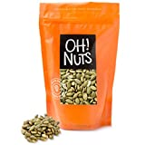 Oh! Nuts Roasted, Salted Pumpkin Seeds | All-Natural Protein Power | Fresh, Healthy Keto Snacks | Resealable 2-Pound Bulk Bag | Shelled and Sprouted Pepitas | Vegan & Gluten-Free Snacking