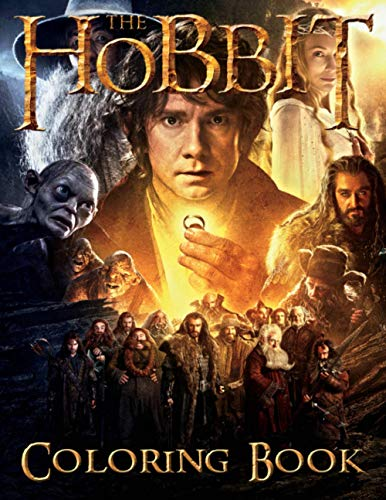 The Hobbit Coloring Book: Unofficial The Hobbit Adults Coloring Books Color To Relax