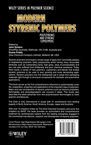 Modern Styrenic Polymers: Polystyrenes and Styrenic Copolymers