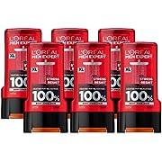 L' Oreal Men Expert stress Resist deodorante, 150ml, confezione da 6