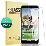 RIIMUHIR Samsung Galaxy A8 Protector de Pantalla,9H Dureza,Sin Burbujas,Alta Claridad Cristal Templado para Samsung Galaxy A8, Ajuste Preciso Protector de Cristal,3 Unidades