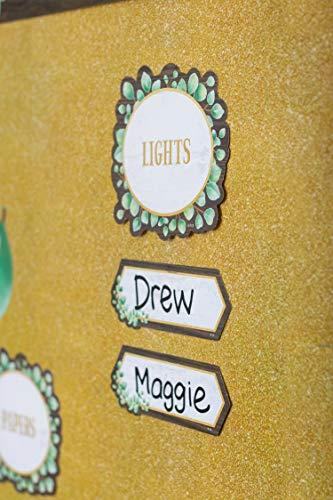 Teacher Created Resources Eucalyptus Classroom Jobs Mini Bulletin Board, TCR8453 Photo #3