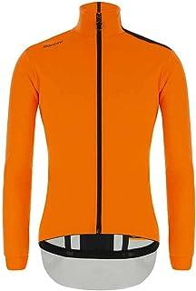 Santini Guard Nimbus Cut wasserdichte Jacke Herren Black 2020 Fahrrad-Jacke Mountainbike-Jacke Rennrad-Jacke