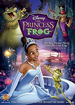 DVD The Princess and the Frog (Single-Disc Edition) Book