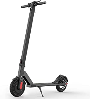 """MEGAWHEELS S5 Electric Scooter, 10 Miles Long Range Battery, Up to 15.5 MPH, 8.5"""" Pneumatic Tires, Portable and Folding Electric Scooter for Short Commutes and Trips"""