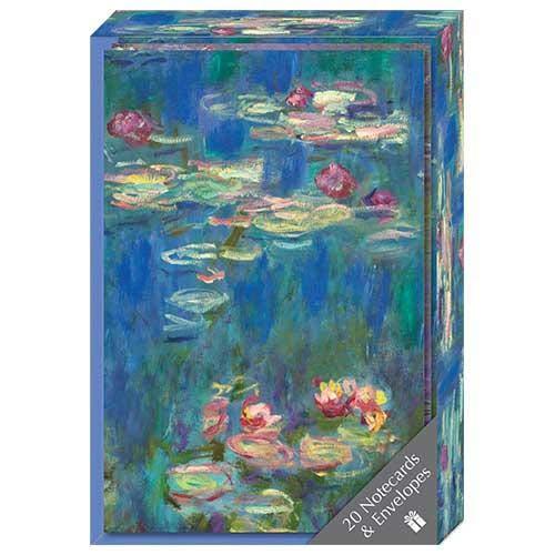 Monet Notecard Collection Box