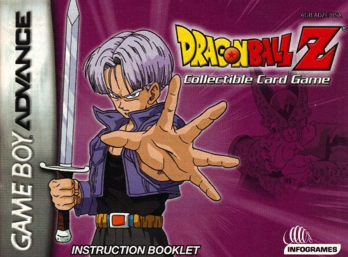 Dragonball Z Collectible Card Game GBA Instruction Booklet (Game Boy Advance Manual Only - NO GAME) (Nintendo Game Boy Advance Manual)