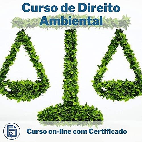 Curso Online em videoaula de Direito Ambiental com Certificado + 2 brindes