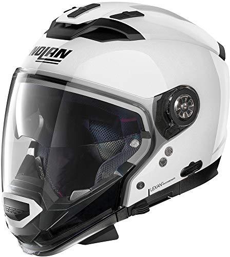 NOLAN N70-2 GT CLASSIC N-COM METAL WHITE L