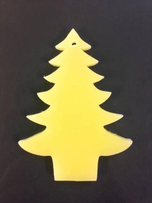 バンカートチの実の木独立したGRASSE TOKYO AROMATICWAXチャーム「ツリー」(YE) ベルガモット アロマティックワックス グラーストウキョウ