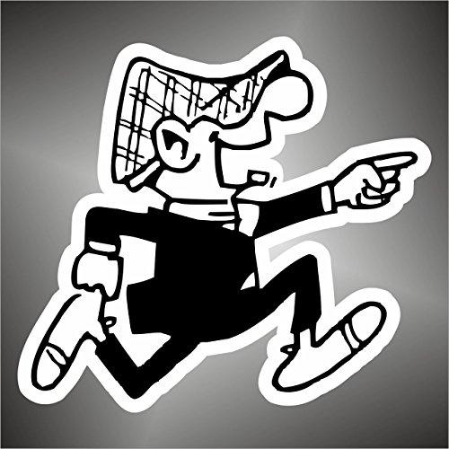 Adesivo Andy Capp comics cartoon cartoni animati sticker