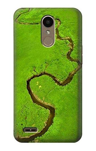 Innovedesire Amazon River Funda Carcasa Case para LG K10 (2018), LG K30, LG K11