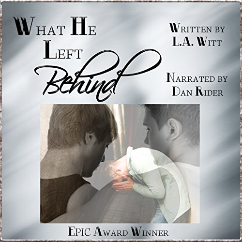 What He Left Behind audiobook cover art
