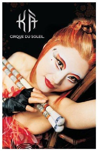 Cirque du Soleil - Ka c.2004 (chief archer's daughter) Movie Poster (27,94 x 43,18 cm)