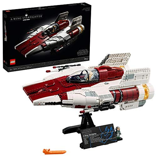 LEGO Star Wars A-wing Starfighter 75275 Building Kit; Collectible Building Set for Adults; Makes a Cool Gift for Star Wars Fans, New 2020 (1,673 Pieces)
