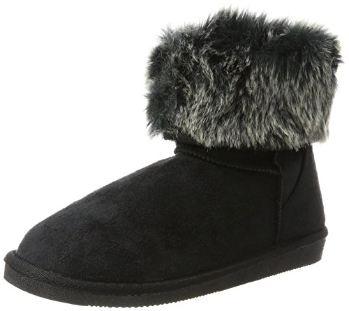 Pieces Psparrisa Winter Boot, Bottes & Bottines Souples Femme, Noir (Black), 41 EU