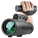 Monocular Telescope High Power 8x42 Monoculars Scope Compact Portable Waterproof Fogproof Shockproof with Hand Strap for Adults Kids Bird Watching Hunting Camping Hiking Travling Wildlife Secenery
