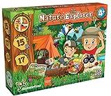 Science4you-Kit Explorador Kit Ciencia con +15 Eco Actividades: CREA un Hormiguero, Utiliza la Linterna Infantil y Lupa, Juegos Educativos y Multi Idioma para Niños +4 Años (80003070)