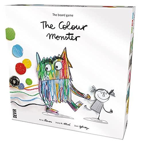 Thames & Kosmos BGMONEN The Colour Monster   Basado en el libro para niños   Juego familiar de bienestar emocional, 2-5 jugadores   Edades 4+   , color/modelo surtido