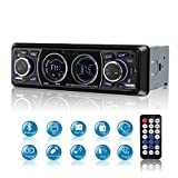 Poste Radio Voiture Bluetooth USB, MEKUULA 1 Din Autoradio FM Radio 4x60W Poste Audio...