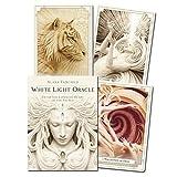 78PCS Tarot Tarjetas, 44 hojas Luz blanca Oracle Tarjetas, Divinación Future Decling Game Tarjetas de pronóstico de destino 122 Hojas Conjunto universal