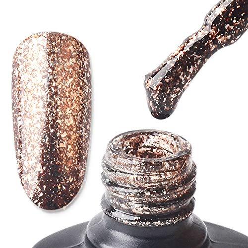 Berrose Phototherapie Nagelpolitur Nagellack Neue Ankunft Gel Nagel Maniküre 8ml Diamant Glitter Pailletten Pigment Mirror Powder Hologramm Chrome Pulver Nail Glitzer Glänzend