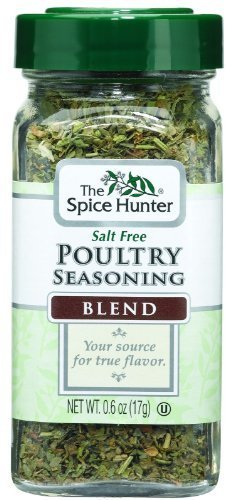 The Spice Hunter Poultry Seasoning Blend, 0.6-Ounce Jar by Spice Hunter