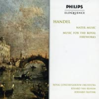Handel: Water Music / Fireworks Music by BEINUM / HAITINK / ROYAL CONCERTGEBOUW ORCH (1997-04-28)