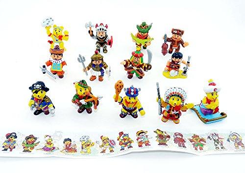 Haribo Figuren Alle 12 Abenteuer Serie mit Beipackzettel