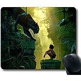 ZZ Power Alfombrilla,Película Personalizada 2016 The Jungle Book Mousepad Mouse Pad 18X22Cm