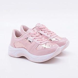 Tênis Pink Cats Infantil Paetês Pele
