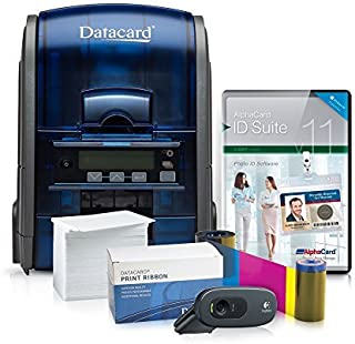 Datacard ID Card Printer System with AlphaCard ID Suite Light Card Software (SD160)