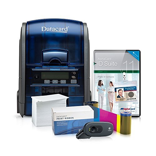 Datacard ID Card Printer System with AlphaCard ID Suite...