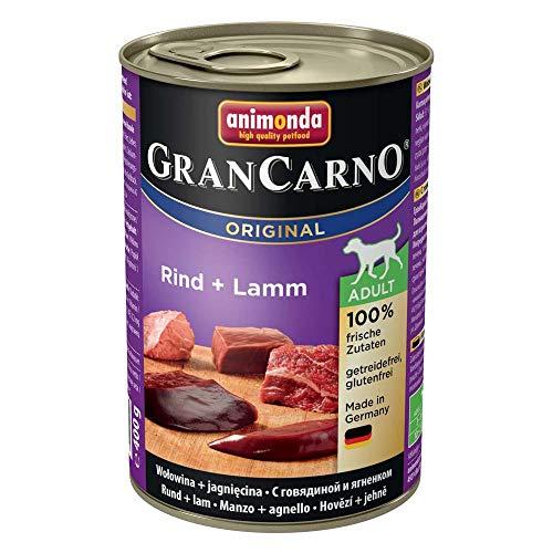 アニモンダ ドッグフード グランカルノ 牛肉・子羊肉 成犬用 400g