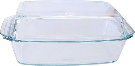 Bohemia Cristal 093/006/031 SIMAX Schüssel eckig ca. 2,8 ltr. mit hohem Deckel aus hitzebeständigem Borosilikatglas preisvergleich bei geschirr-verleih.eu