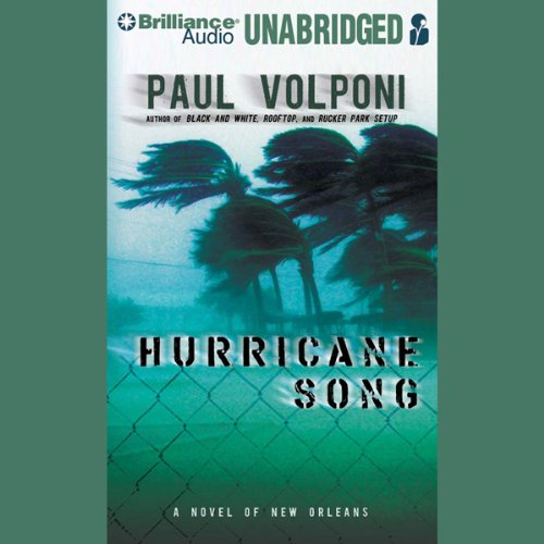 Hurricane Song audiobook cover art