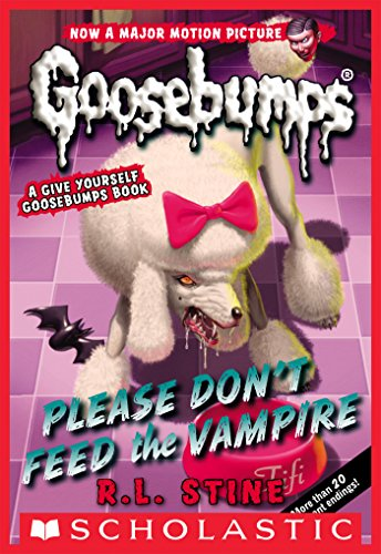 Classic Goosebumps #32: Please Don't Feed the Vampire! (Give Yourself Goosebumps Book 15)