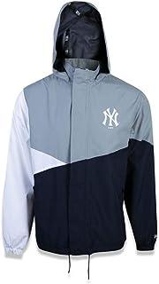 JAQUETA WINDBREAKER NEW YORK YANKEES MLB CINZA/MARINHO NEW ERA
