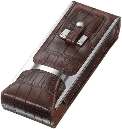 Visol Alton Brown Case Special price for a limited time Cigar 2021 new Leather