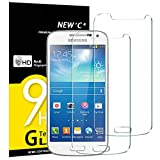 NEW'C Lot de 2, Verre Trempé pour Samsung Galaxy S4 Mini Film Protection écran -...