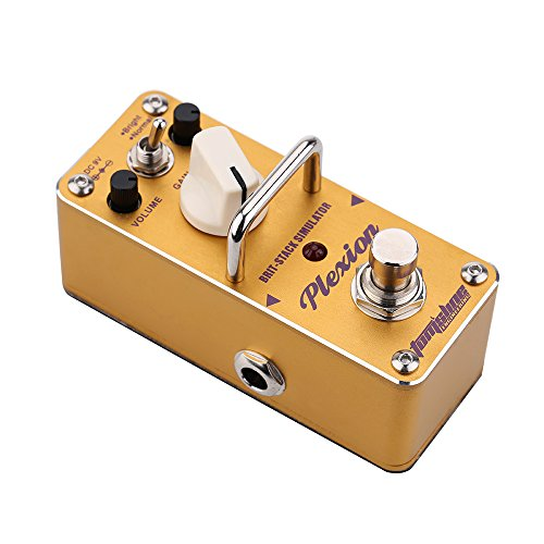 ammoon AROMA APN-3 Plexion Brit-stack Simulator Electric Guitar Effect Pedal...
