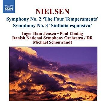 "Nielsen, C.: Symphonies, Vol. 2 - Nos. 2, ""The 4 Temperaments"" and 3, ""Sinfonia Espansiva"""