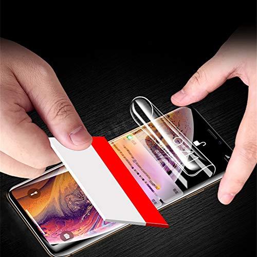 JIRENSHU Bildschirmschutzfolie Full Cover Soft Hydrogel Folie HD Schutzfolie, für BLU Vivo One Plus X XL G9