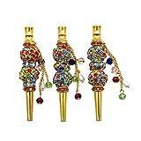 1 pc Shisha Hookah Accessories Metal Rhinestone Nozzle Diamond Hookah Tips Shisha Nargila ...