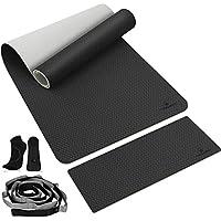4-Piece Tanjali 8mm TPE Yoga Mat Set