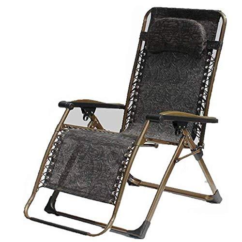 HAOSHUAI Silla Plegable al Aire Libre Reclinable reclinable reclinable