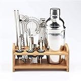 DAGUAI Coctel Making Set Set de Barra de 12 Piezas Cocktail Shaker Set con Kit de bartendario de...