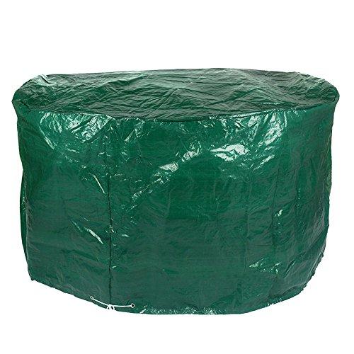 Housse de protection imperméable pour meuble de jardin - Vert Patio Set Cover Green