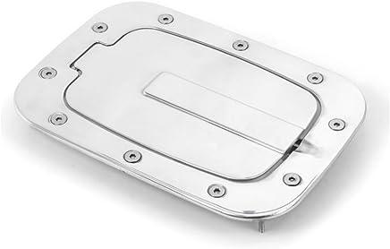 Silver All Sales 6107P 7 1//8 Ring//5 1//8 Ami Race Style Billet Fuel Door