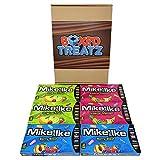 Caja de regalo Mike e IKE Sweet Mix de Mike e IKE con caja de regalo para masticar, caja de regalo con 6 dulces, caja de regalo